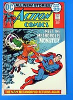 ACTION COMICS #415 COMIC BOOK ~ SUPERMAN ~ 1972 DC BROZE AGE  ~ VF