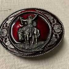 Siskiyou Belt Buckle Native American Western