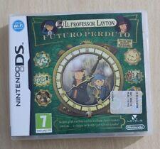 IL PROFESSOR LAYTON E IL FUTURO PERDUTO NINTENDO DS-3DS-2DS ITALIANO COME NUOVO