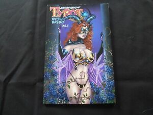 "2003 Jim Balent's Tarot VOLUME 1 TPB ""Witch Black Rose"" W/Signed/Numbered Print!"