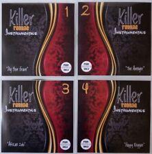 'Killer Reggae Instrumentals' JUMBO 4CD pack discs 1-4 Classic & Rare Reggae