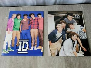 2 One Direction 3 ring Folders School Supplies Original 1D NEW 2012 Harry Styles