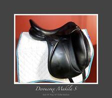 "REDUCED Devoucoux Makila Dressage Saddle 18"" Mono Flap - 3A flap, Medium Tree"