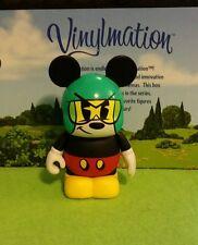 "DISNEY Vinylmation Park 3"" Inch Set 1 Cartoon Mickey Mouse Croissant Triomphe"