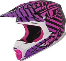 Fly Racing THREE.4 Helmet Purple/Pink