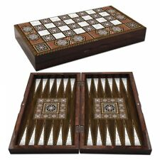 The 19'' Magic Star Backgammon Turkish Premium Board Game Set