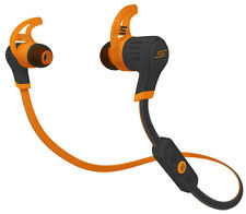 SMS Audio Sync by 50 Cent Wireless Bluetooth In-ear Sport Earphones - Orange