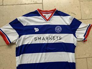 QPR 2016/17 Home Shirt Queens Park Rangers BLUE WHITE Smarkets Dryworld 3XL