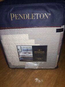 Pendleton Diamond Ridge Full/Queen Quilt Set In Multi With 2 Standard Shams!
