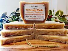 organic jojoba castor lavender soap homemade sheabutter coconut oil ginger root