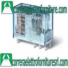 Finder Minirele' 40529024 con Circuito stampato 2 scambi 8a DC