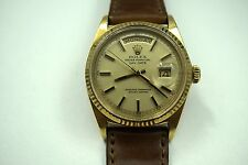 ROLEX 1803 DAY DATE 18K AUTOMATIC DATES 1968 ORIGINAL DIAL,SUPER NICE.BUY IT NOW