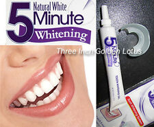 5~Minute Tooth Whitening White System~Gel + Mouth Tray Teeth light Bleaching Kit