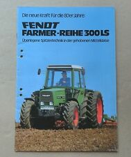 FENDT Farmer 305 LS - 309 LS Schlepper Original 1980