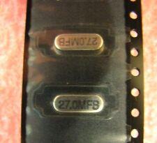27MHz IMPACT 49SM-27.000M-FB-T CRYSTAL 49SMD, Qty.20