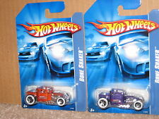 Hot Wheels Lot  Bone Shaker Limited Edition Kar Keepers Exclusive Purple Brown