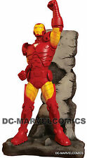 New Avengers Factory New! Invincible Iron Man Statue Mib! #529 Marvel Movie