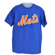 MLB Licensed New York Mets Johan Santana 57 Tshirt Tee Blue Orange Cotton XLarge