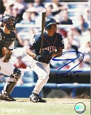 Jacque Jones Signed Minnesota Twins 8x10 Photo COA