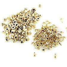 100 pyramid stud Rivet 10 mm for shoes belt Gold color AD
