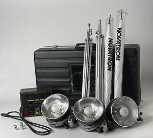 Novatron V400 Strobe lighting  kit