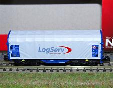 MODELLBAHN UNION SCALA N carro telonato Shimms LOGSERV ART. MU3335030 OVP NEU