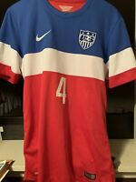 2014 Authentic Nike USA Jersey Size S Michael Bradley #4 World Cup Edition