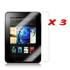 "3 x Clear Screen Protector for 7"" Amazon Kindle Fire HD 1st Gen (Pre Oct 2014)"