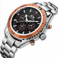 PAULAREIS Automatic Men's SelfWind Mechanical Stainless Wrist Watch