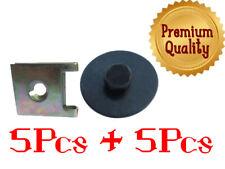 PORSCHE INTERNI 9mm HEAD /& 4mm Foro Fit ABETE PORTA CARD clip di montaggio Trim