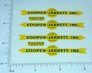 Matchbox Cooper Jarrett Freighter Stickers      MB-M9A1