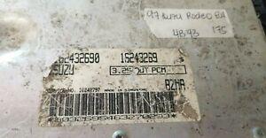 1997 Isuzu Rodeo ecm ecu computer 16243269