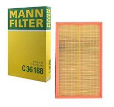Mann OEM Air Filter C36188 For Audi A3 Quattro TT Quattro VW CC Eos Passat R32