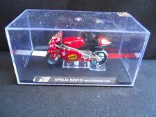 Die Cast Model Moto 1:24 APRILIA RSW 125 Mirko Giansanti 2004 [N3-22 ]