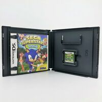 Sega Superstars Tennis (Nintendo DS, 2008) Complete Tested