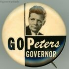 1966 Jack L. Peters For IA Governor Iowa GOP Primary Campaign Pin Pinback Button