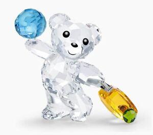 Swarovski Kris Bear - I Travel the World (5491972) Figurine - Brand New