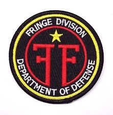 """Fringe Division Department of Defense  3"""" Red Logo Patch- FREE S&H (FFPA-01)"""
