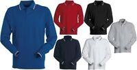 polo maglia maglietta uomo manica lunga 100% cotone taglie forti S - 6XL italia