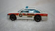 1996 Hot Wheels Fire Fighter White Chief Car Custom Real Riders