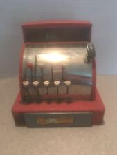 Vintage Tom Thumb Toy Cash Register Western Stamping Company Red Metal
