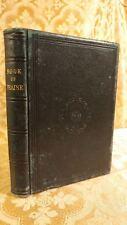1868 Book of Praise Hymns and Tunes Antique Christian Church Choir Book RARE