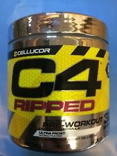 Cellucor C4 RIPPED Pre Workout 30 Servings Ultra Frost 08/20