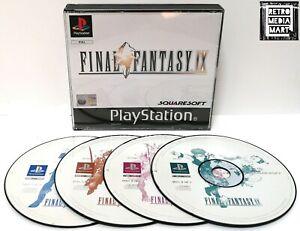 Final Fantasy IX 9 ~ PlayStation PS1 Black Label ~ PAL *Disc Excellent No Manual