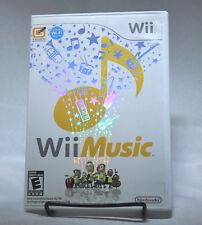 Wii Music Nintendo Complete CIB Foil Cover