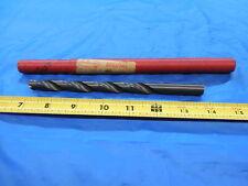 Cleveland 1532 Hss Cobalt Coolant Thru Twist Drill Bit 2964 Shank 46875