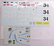 1/24 Ferrari F40-LM Pilot Decal 1994 Le Mans Decal for Fujimi/Tamiya/Studio 27