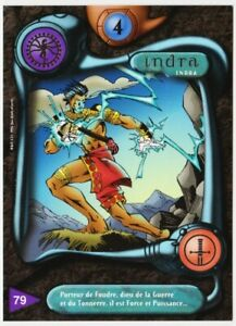 79 INDRA - CARTE DEUS - SERIE I - 1996 - VF [ NEUF MINT ] trad's