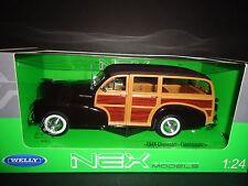 Welly Chevrolet Fleetmaster 1948 Dark Brown Top 1/24