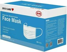 BYD Care Single-Use, General Purpose Face Mask (50 masks)